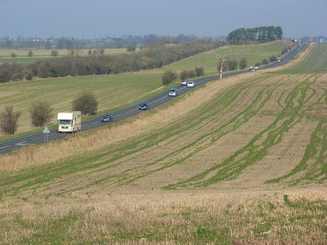 The A346 near Chiseldon