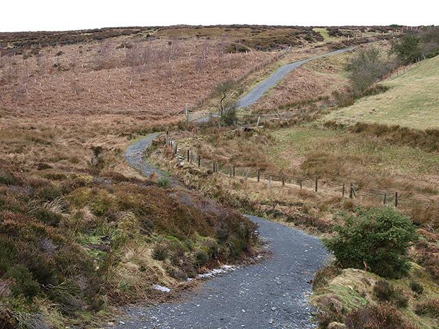 Bridleway through Hardale