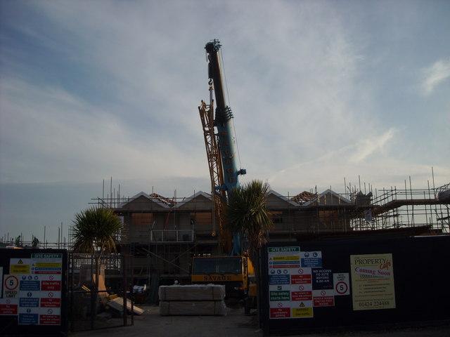 Construction Work, Cooden Beach