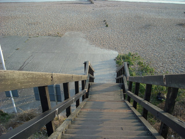Steps to  the Beach, Cooden Beach