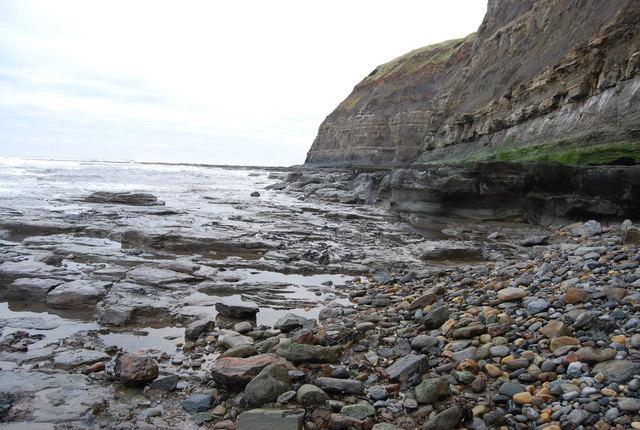 Wave cut platform & cliff