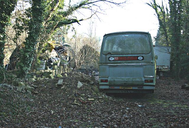 2008 : Abandonment near Ashley