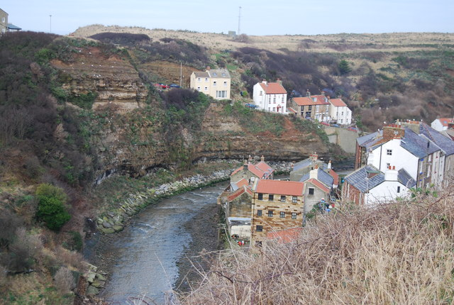 River valley, Staithes