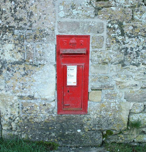 2008 : Edwardian Post Box, Ditteridge