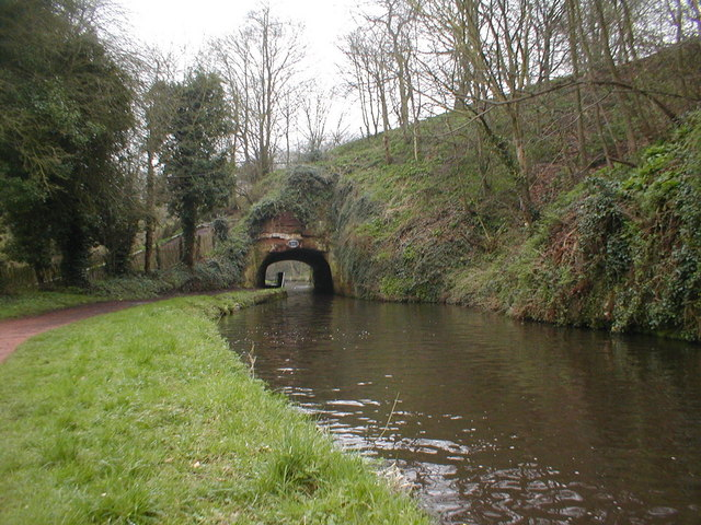 Tunnel on the Staffs - Worcester Canal