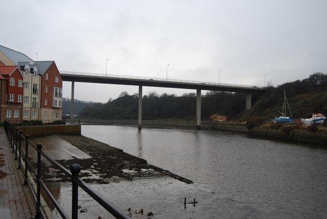 High level road bridge, Whitby
