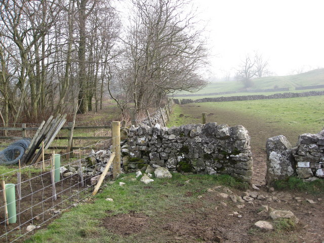 Footpath to Alport continues after Coalpit Lane
