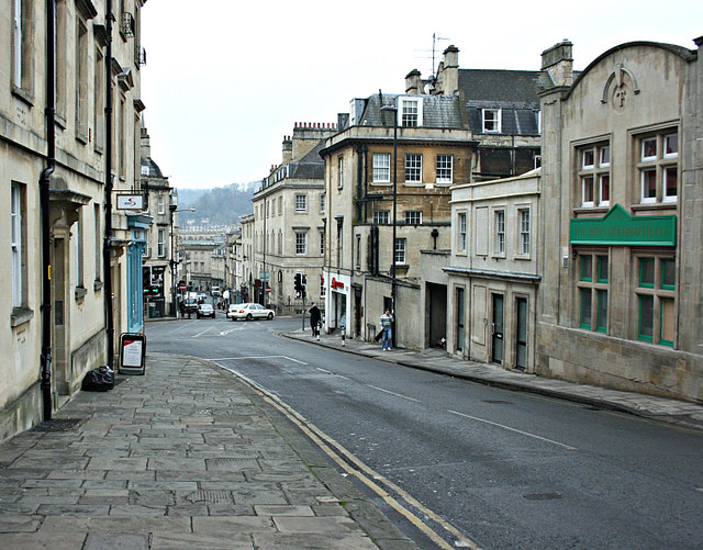 2008 : Bottom of Lansdown Hill, Bath