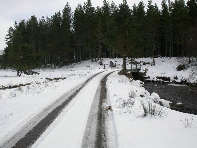 Glen Kyllachy in snow