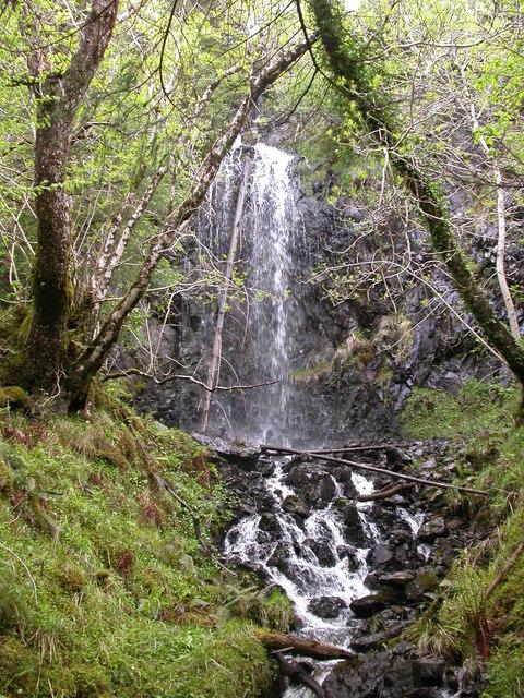 Waterfall, Glen Lonan