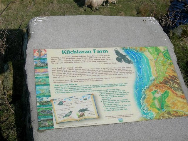 Kilchiaran Farm Information Board