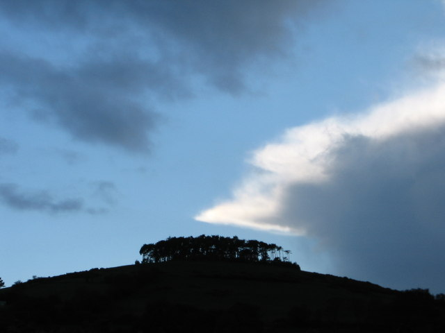 Clouds over Bromlow Callow