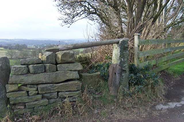 Stile to Footpath from Thorncliffe Lane
