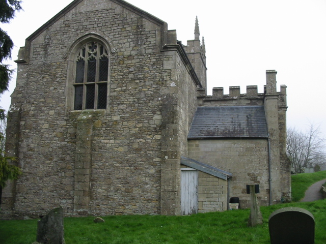 Western end of Englishcombe church