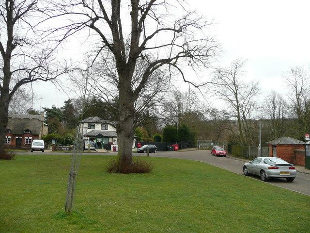 Clophill village green