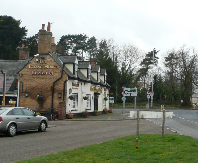 The Flying Horse, Clophill