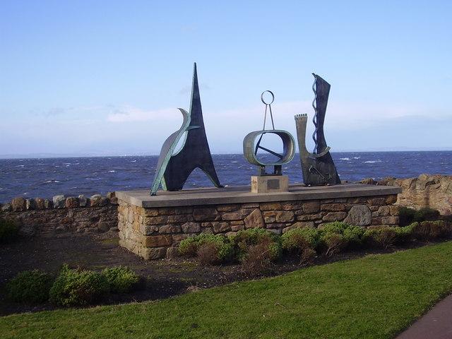 Prestonpans - modern sculpture