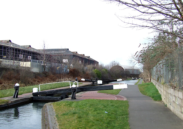Wolverhampton Locks No 2