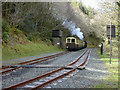 SN6878 : Aberffrwdd station by Nigel Brown