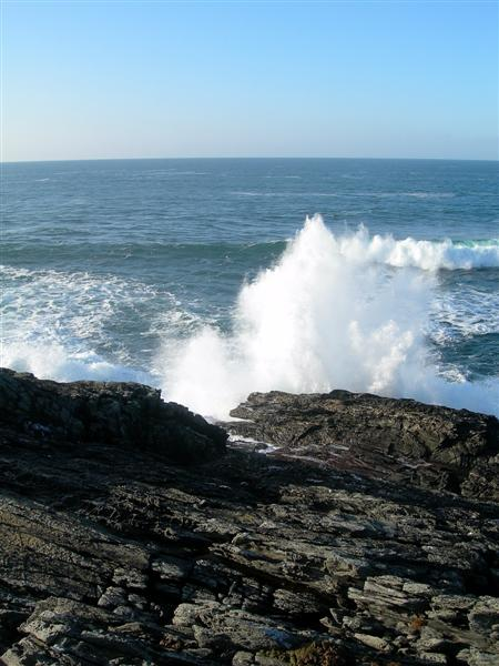 Atlantic Waves At Coul Point