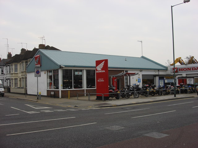Honda, Motorcycle salerooms, Dudden Hill Lane