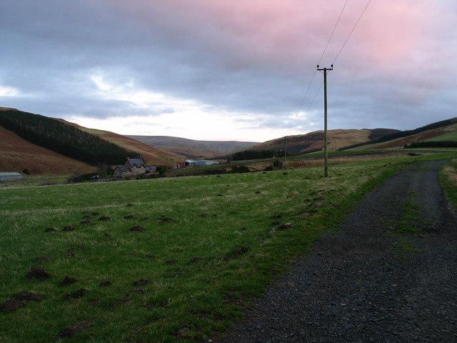 Upper Bowmont Valley, Cheviot Hills