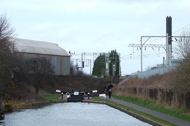 Wolverhampton Locks No 3