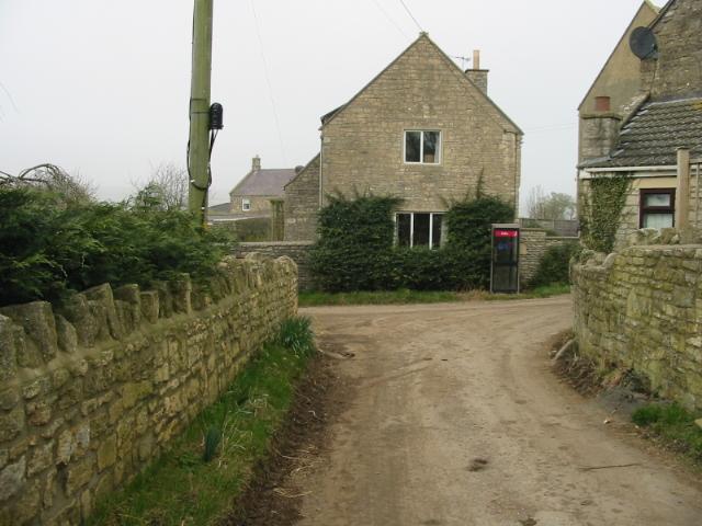 View along Stitchings Lane, Inglesbatch
