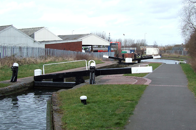 Wolverhampton Locks No 4