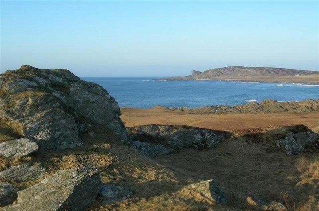Towards Saligo Bay