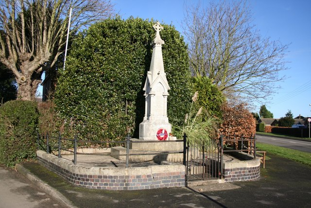 East Kirkby War Memorial