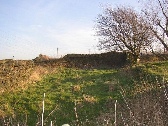 Small enclosure, Pinfold Lane, Fixby