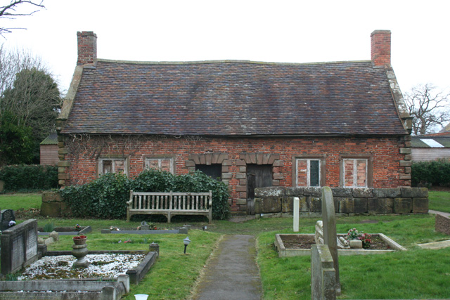 Almshouses in St Mary's Churchyard, Acton