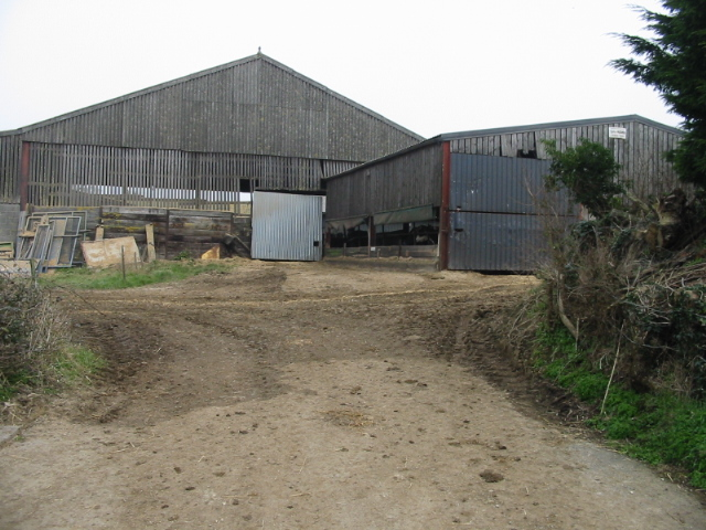 Entrance to Inglesbatch Farm