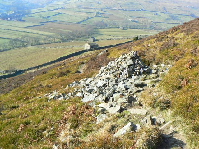 Cairns on the Pennine Way