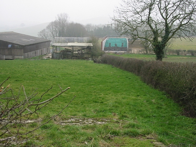 Buildings at Priston New Farm