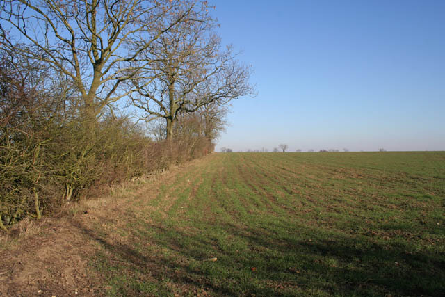 Farmland near Stonesby