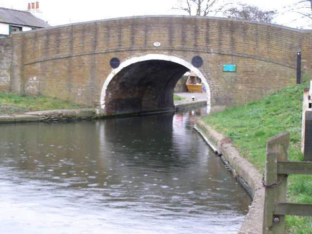 Hump back bridge, Iver Lane, Cowley.