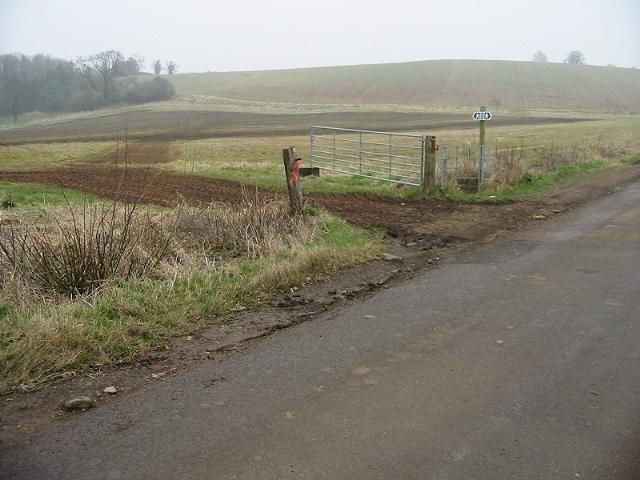 Looking NE across the fields