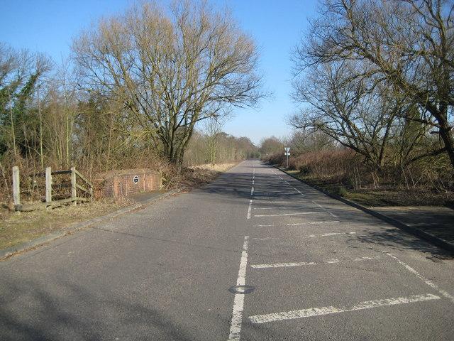 Burntcommon: Former A3 London Road dual carriageway