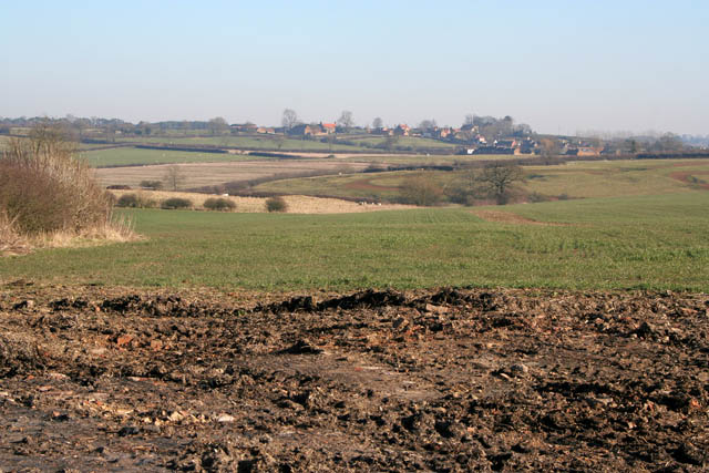 Farmland above the River Eye