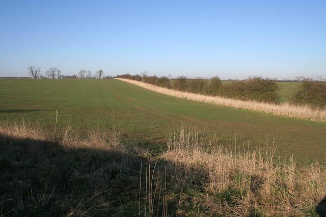 Farmland off Stonesby Road
