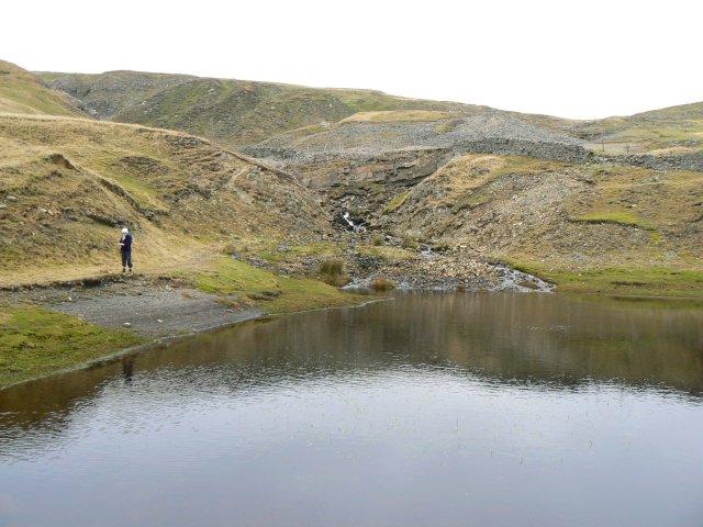 Small reservoir on Thackthwaite Beck