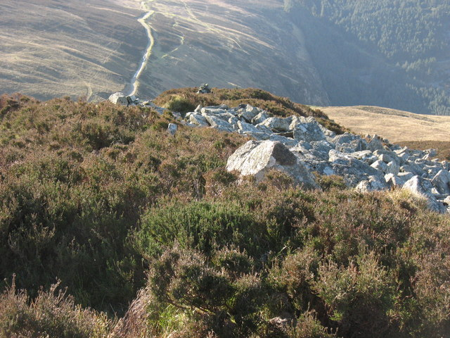 The old quarry track to Llithfaen