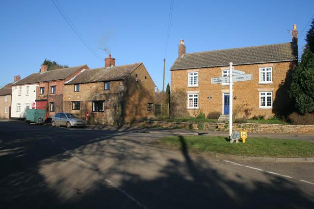 Village centre, Sproxton
