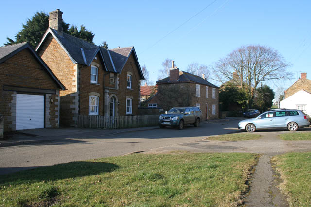 Houses on Cropston Road, Sproxton