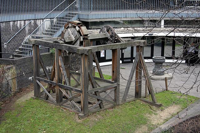 Roman Water Wheel