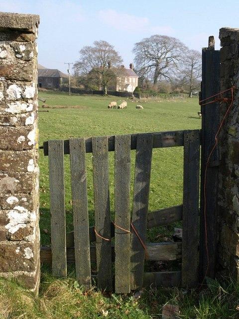 Gap in wall, Langtree Week