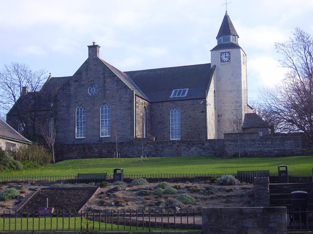 Prestonpans - The Kirk and Coronation Gardens