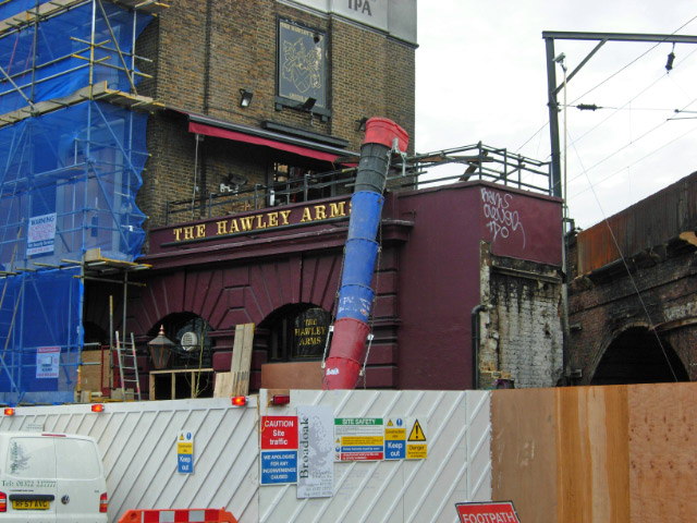 The Hawley Arms, Camden Town